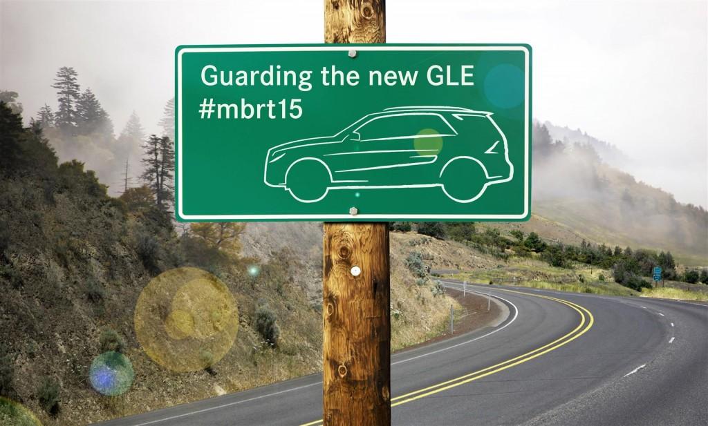 """#mbrt15 Mercedes-Benz Roadtrip 2015 """"Guarding the new Mercedes-Benz GLE"""""""