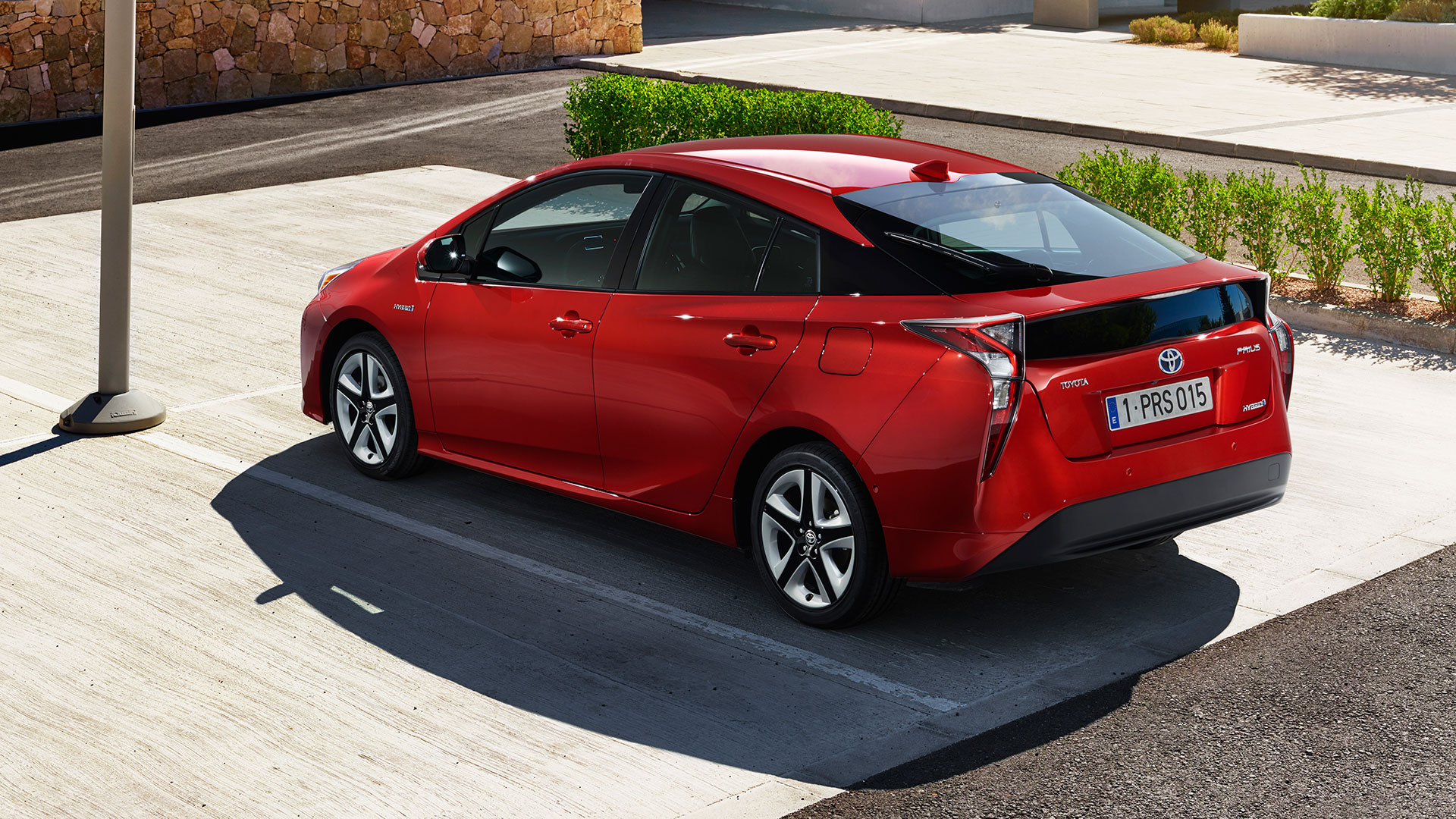 iaa 2015 toyota prius in 4 generation auto geil. Black Bedroom Furniture Sets. Home Design Ideas